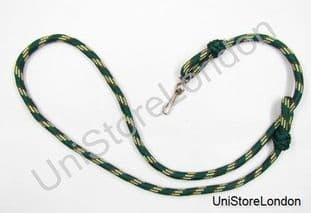 Lanyard Green - Beige Cream with Hook Army 100 cms R1052