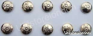 Military Buttons,Royal Artillery,Gold,Size14mm R171