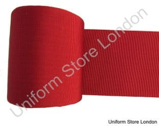 Ribbon Masonic Red 4 Inch Sold By Meter R1600