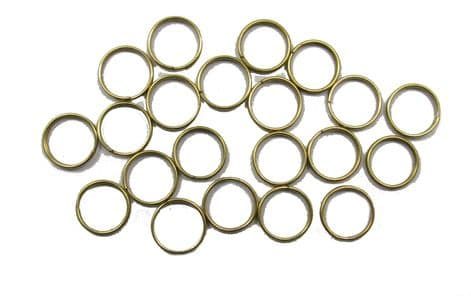 Rings Brass Button Rings Jump Suspension Rings R683