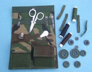 Sewing Kit,Military,Housewife,Soldier 95 DPM Camo R433