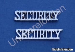 Shoulder Title Security Rank Marking R182