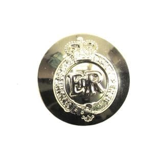Staff Button Military Army Service EІІR Buttons Gold 25mm 40L Sold Pack of 6 R1660