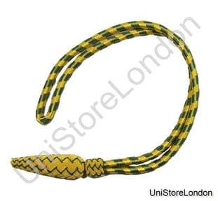 Sword Knot - Gold & Green Army 0163