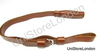 Sword Knot leather Brown,Japanese N.C.O Army 750mm  R322L