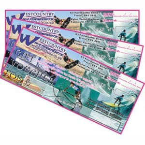 Westcountry Watersports Gift Vouchers