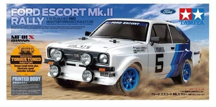 58687 ESCORT MK II RALLY PB (MF-01X)