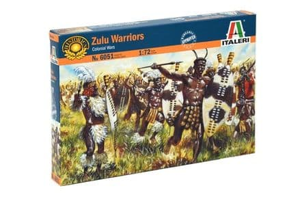 6051 Italeri ZULU WARRIORS Colonial Wars 1:72
