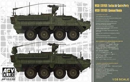 AF35130 AFV Club  M1130 Stryker Command Vehicle 1/35