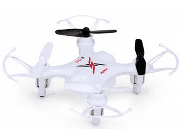 AM-SYSX12S Syma X12S Nano 4CH Remote Control Quadcopter 2.4GHz White