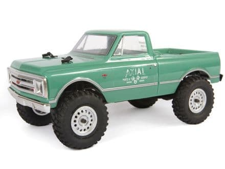 Axial SCX24 1967 Chevrolet C10 1/24 4WD-RTR, Green AXI00001T1