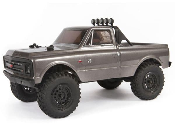 Axial SCX24 1967 Chevrolet C10 1/24 4WD-RTR, Silver AXI00001T2