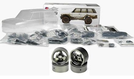 CARISMA 81168 SCA-1E 1981, 4-DOOR RANGE ROVER DELUXE KIT (INC ALLOY WHEELS)
