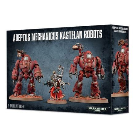 Games Workshop Warhammer 40000 40K Adeptus Mechanicus Kastelan Robots 59-16