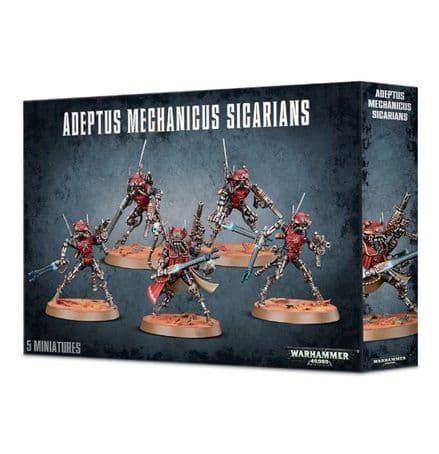 Games Workshop Warhammer 40000 40K Adeptus Mechanicus Sicarians 59-11