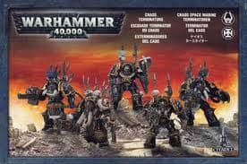 Games Workshop Warhammer 40000 40K Chaos Space Marines Terminators 43-19