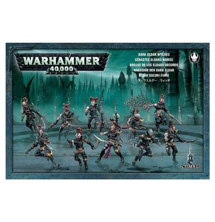 Games Workshop Warhammer 40000 40K Dark Eldar Wyches 45-08