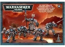 Games Workshop Warhammer 40000 40K Grey Knight Terminators 57-07