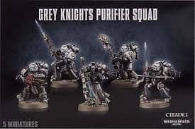 Games Workshop Warhammer 40000 40K Grey Knights Purifier Squad 57-07
