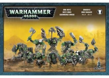 Games Workshop Warhammer 40000 40K Ork Boyz 50-10