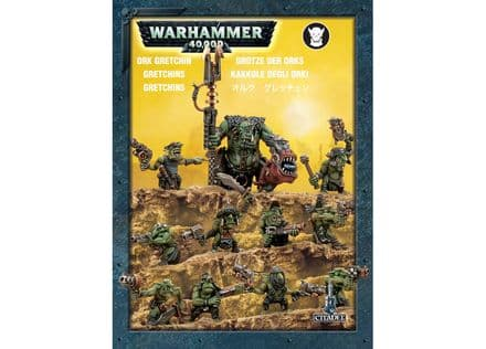 Games Workshop Warhammer 40000 40K Ork Gretchin 50-16