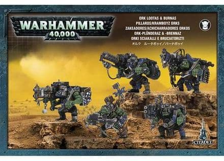 Games Workshop Warhammer 40000 40K Ork Lootas & Burnas 50-22