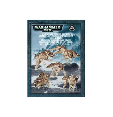 Games Workshop Warhammer 40000 40K Space Wolves Fenrisian Wolf Pack 53-10