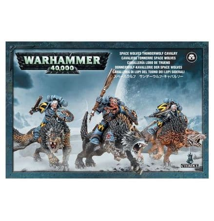 Games Workshop Warhammer 40000 40K Space Wolves Thunderwolf Cavalry 53-09