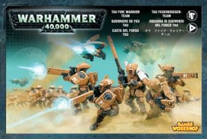 Games Workshop Warhammer 40000 40K Tau Fire Warrior Team 56-06