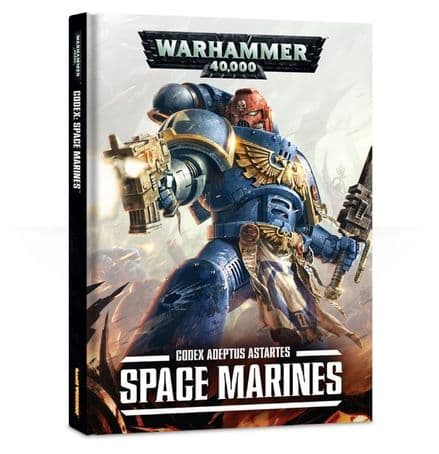 Games Workshop Warhammer 40K Codex: Space Marines