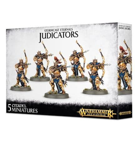 Games Workshop Warhammer Age Of Sigmar Stormcast Eternals Judicators