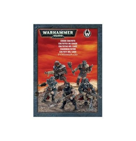 Games Workshop Warhammer Chaos Cultists 35-34