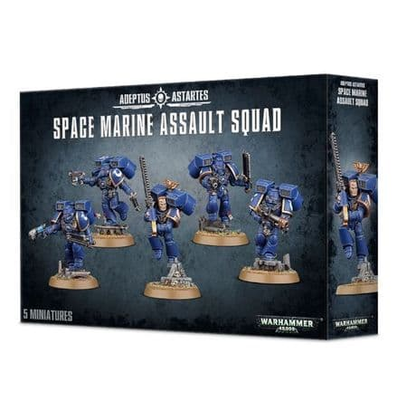Games Workshop Warhammer40K Space Marine Assault Squad 48-09