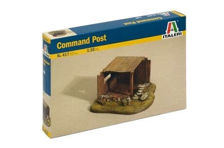 Italeri 417 COMMAND POST 1:35