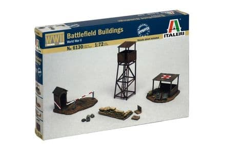 Italeri 6130 Battlefield Buildings 1:72