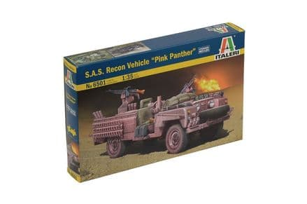 Italeri S.A.S. Recon Vehicle 1:35 6501