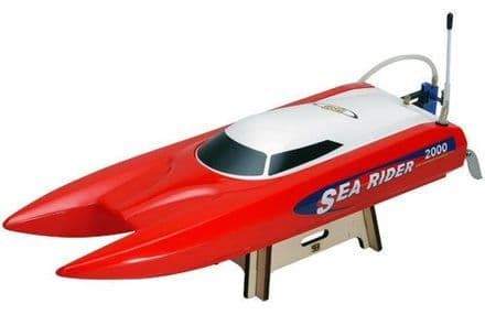Joysway B-JS-9302RR/2-4G Offshore Sea Rider 2.4GHz RTR - Red