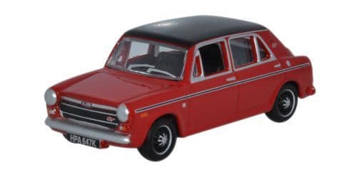 Oxford Diecast 76aus002 Austin 1300 Flame Red 1 76