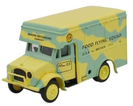 Oxford Diecast 76BD001 Food Flying Squad Bedford OX 30cwt Van - 1:76