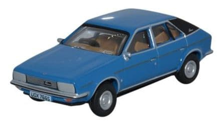 Oxford Diecast 76BLP004 BL Princess Tahiti Blue 1:76