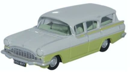 Oxford Diecast 76CFE006 Vauxhall Friary Estate Swan White/Lime Yellow - 1:76