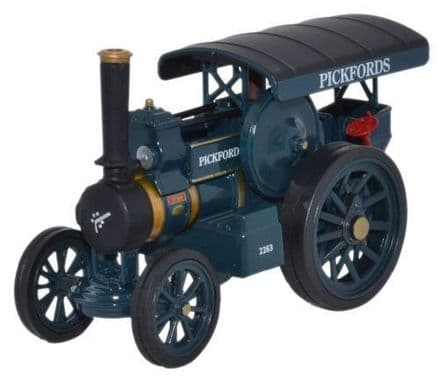 Oxford Diecast 76FOW002 Fowler B6 Road Locomotive Pickfords Titan - 1:76