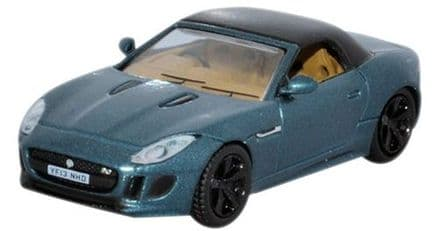 Oxford Diecast 76FTYP005 Jaguar F Type British Racing Green Metallic 1:76