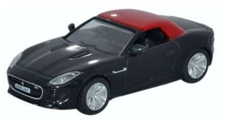 Oxford Diecast 76FTYP007 Jaguar F Type Ultimate Black 1:76