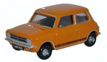 Oxford Diecast 76MINGT004 Mini 1275GT Bronze Yellow