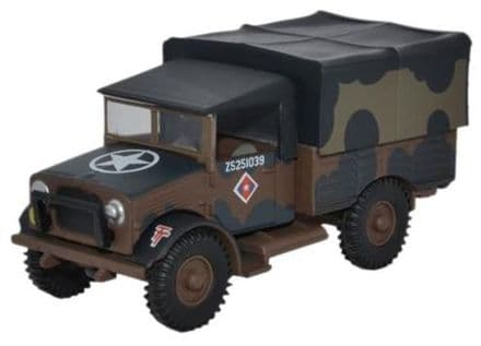 Oxford Diecast 76MWD001 British Army Mickey Mouse Bedford MWD - 1:76