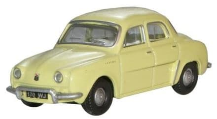 Oxford Diecast 76RD002 Renault Dauphine Yellow - 1:76
