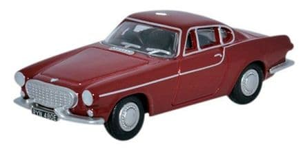 Oxford Diecast 76VP001 Volvo P1800 Red - 1:76