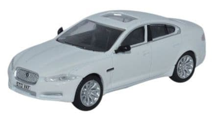 Oxford Diecast 76XF005 Jaguar XF Saloon Polaris White 1:76