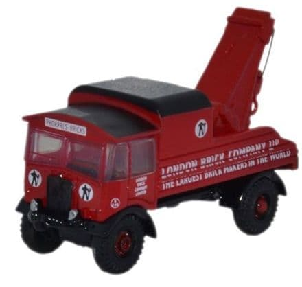 Oxford Diecast NAEC004 AEC Matador London Brick Company - 1:148